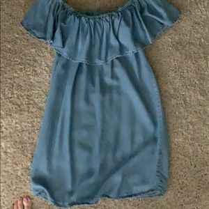 Off the shoulder dress from Forever 21. Size small